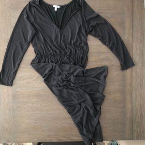 ☕️Abound Black Long Sleeve Dress